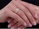 Cartier Diamond Nesting Ring Set in 18K