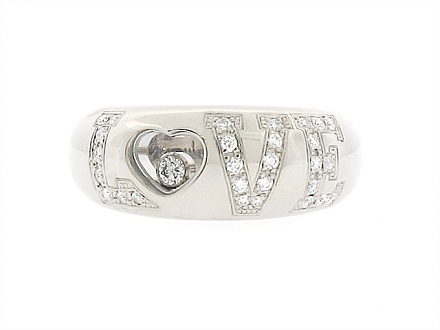 Chopard Diamond Love Ring in 18K