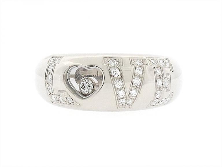 Video of Chopard Diamond Love Ring in 18K