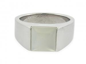 Cartier Moonstone Tank Ring in 18K
