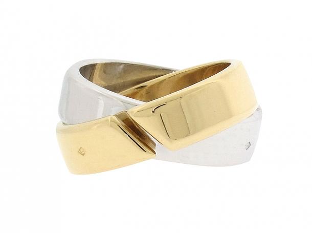 Hermès Rolling Ring in 18K