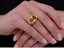 Van Cleef & Arpels Citrine Ring in 18K