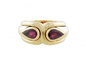 Bulgari Ruby Ring in 18K