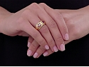 Bulgari Ruby Ring in 18K