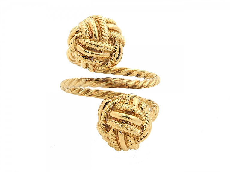 Video of Tiffany & Co. Schlumberger Knot Ring in 18K Gold
