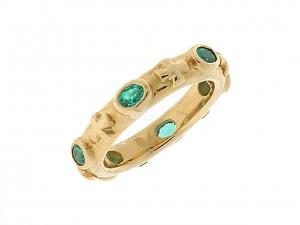 Loree Rodkin Emerald Ring in 18K