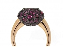 Pomellato Tabou Ring in 18K and Silver