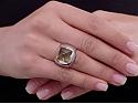 Bulgari Piramide Citrine Ring in 18K