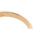 Van Cleef Arpels 'Alhambra' Coral Ring in 18K