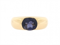 Cartier 'Ellipse' Iolite Ring in 18K