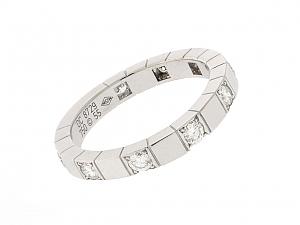 Cartier 'Lanières' Diamond Ring in 18K