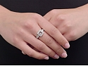 Chopard 'Happy Diamonds Icons' Ring in 18K