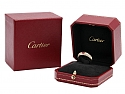 Cartier Ruby Ring in 18K Gold
