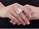 H.Stern 'Cobblestones' Quartz Ring in 18K