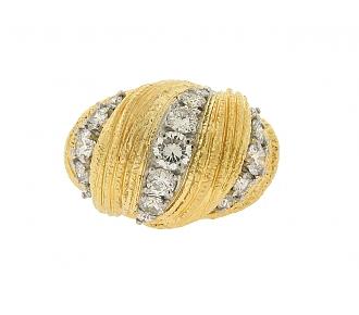 Kutchinsky Diamond Ring in 18K