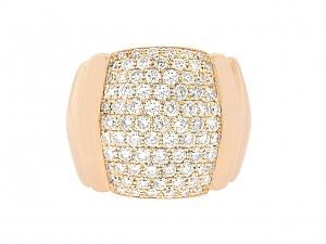 Mattia Cielo Diamond Ring in 18K