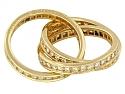 Cartier Diamond 'Trinity de Cartier' Ring in 18K