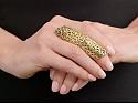Gaia Repossi x Alexander Wang 'Twin' Ring in 18K Gold
