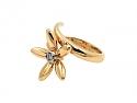 Asprey Diamond 'Daisy' Wrap Ring in 18K Gold