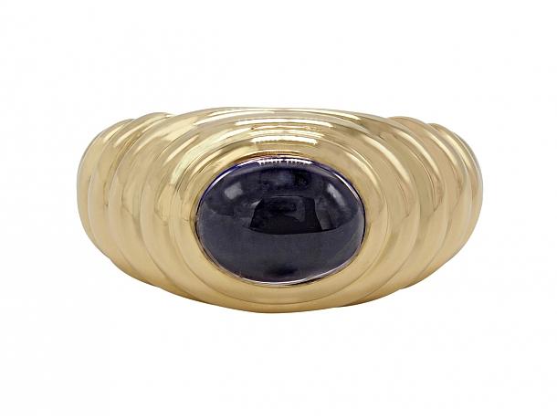 Bulgari Iolite Ring in 18K Gold