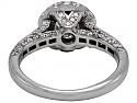 Diamond Ring, 0.52 Carat F/SI-1, in 18K White Gold