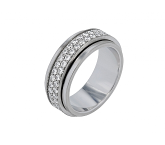 Piaget 'Possession' Diamond Band in 18K White Gold