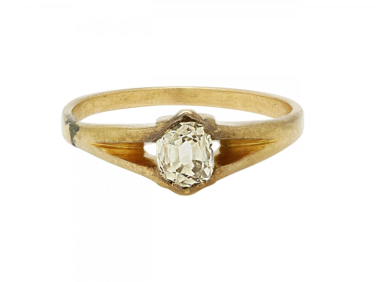 Video of Antique Diamond Ring in 14K Gold