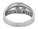 Cartier Diamond Ring in 18K White Gold