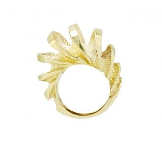 'Shrimp' Ring in 18K Gold