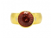 Gurhan Garnet Ring in 22K Gold