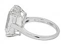 Emerald-cut Diamond Ring, 10.07 carat, by Cartier