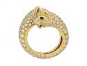 Cartier 'Panthère de Cartier' Diamond Ring in 18K Gold