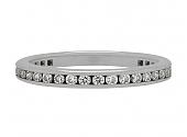 Tiffany & Co. Channel-Set Diamond Eternity Band in Platinum