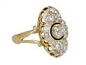 Antique Victorian Diamond Ring in 14K Gold