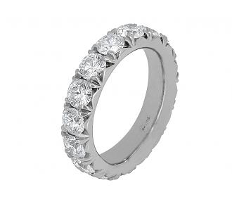 Beladora 'L'éternelle' Diamond Eternity Band, 3.85 total carats, in Platinum
