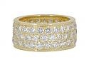 Van Cleef & Arpels Diamond Band in 18K Gold
