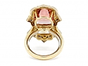 IVY Double Tourmaline Ring in 18K Gold