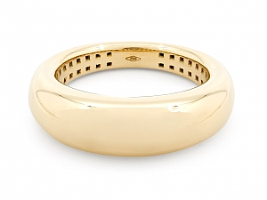 Bombé Gold Ring in 18K, by Beladora