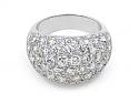 Boucheron Diamond Ring in Platinum