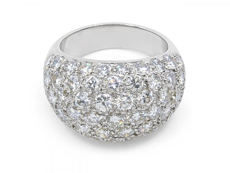 Video of Boucheron Diamond Ring in Platinum