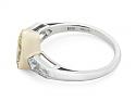 Beladora 'Bespoke' Marquise Fancy Intense Yellow Diamond, 1.13 carats, Ring in Platinum and 18K Gold
