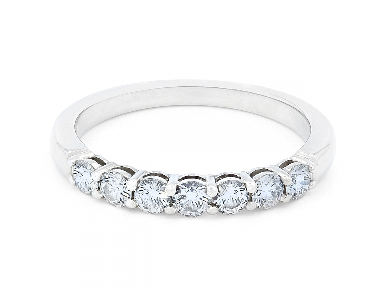 Video of Tiffany & Co. 'Embrace' Diamond Band Ring in Platinum