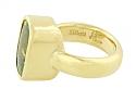 Elliott Peridot Ring in 18K