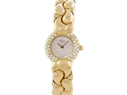 Chopard 'Casmir' Diamond Watch in 18K