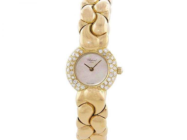 Video of Chopard 'Casmir' Diamond Watch in 18K