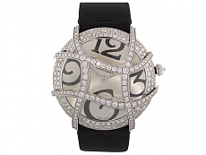 Cartier Diamond Ronde Folle Watch in 18K