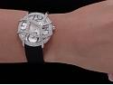Cartier Diamond Ronde Folle Watch in 18K