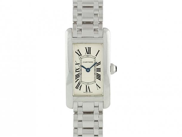 Cartier 'Tank Américaine' Watch in 18K
