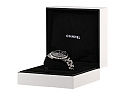 Chanel 'J12' Diamond Quartz Watch in Black
