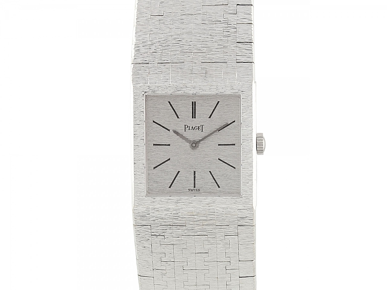Video of Vintage Piaget Watch in 18K White Gold, Manual Wind